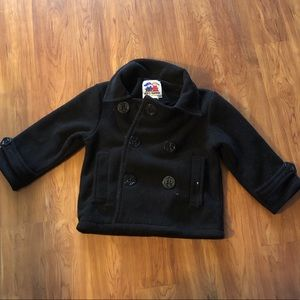Other - Girl's Black Peacoat